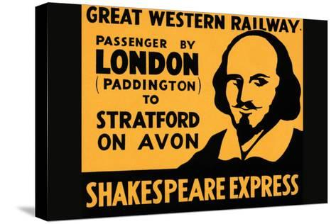 Shakespeare Express--Stretched Canvas Print