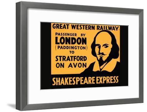 Shakespeare Express--Framed Art Print