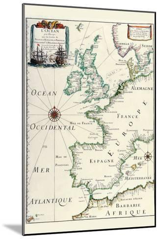 Europe-Matthias Merian-Mounted Art Print