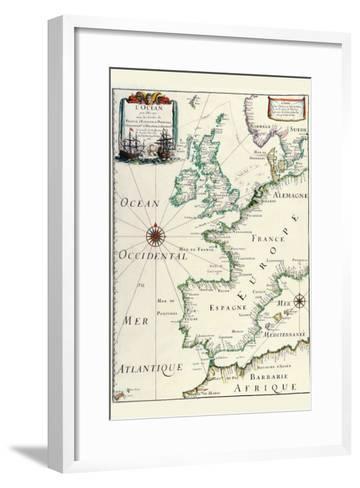 Europe-Matthias Merian-Framed Art Print
