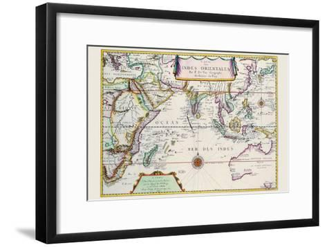 Indies Orientales; Southeast Asia-Pierre Duval-Framed Art Print