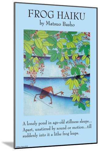 The Frog--Mounted Art Print