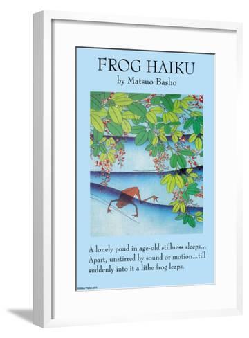The Frog--Framed Art Print