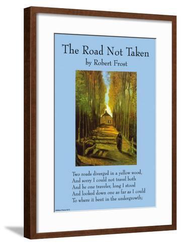 The Road Not Taken--Framed Art Print