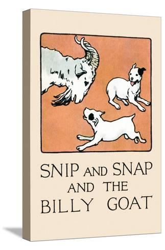 Snip And Snap And the Billy Goat-Julia Dyar Hardy-Stretched Canvas Print