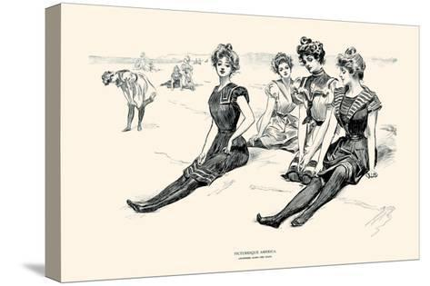 Picturesque America-Charles Dana Gibson-Stretched Canvas Print