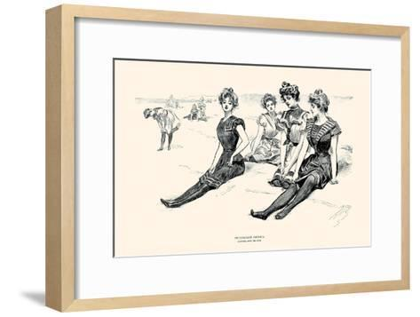 Picturesque America-Charles Dana Gibson-Framed Art Print