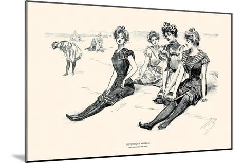 Picturesque America-Charles Dana Gibson-Mounted Art Print