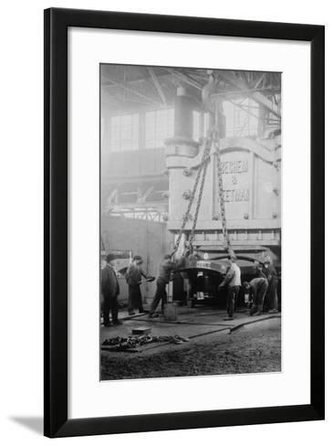 Krupp Presses For War--Framed Art Print