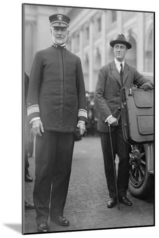 Franklin Delano Roosevelt As Secretary of the Navy--Mounted Art Print