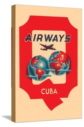 Q Airways Cuba--Stretched Canvas Print