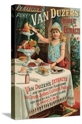 Van Duzer's Fruit Extracts--Stretched Canvas Print