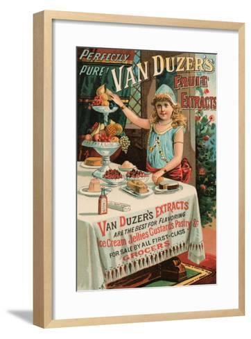 Van Duzer's Fruit Extracts--Framed Art Print