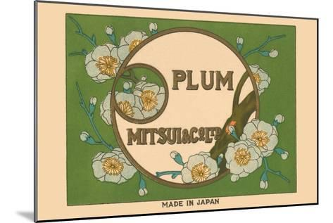 Special Selection Plum By Matsui--Mounted Art Print