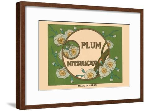 Special Selection Plum By Matsui--Framed Art Print