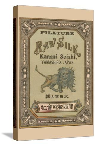 Filature Raw Silk Kamnsei Seishi, Yamashiro, Japan--Stretched Canvas Print