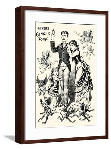Parkers Ginger Tonic--Framed Art Print