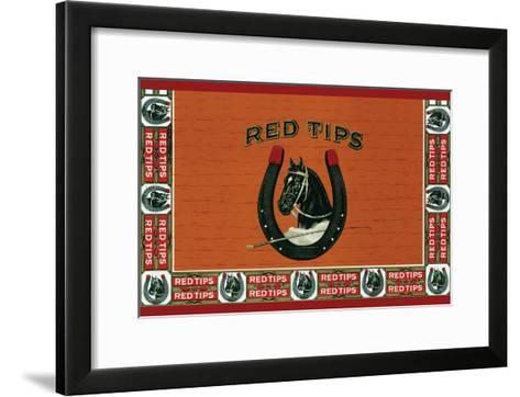 Red Tips--Framed Art Print