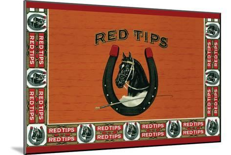 Red Tips--Mounted Art Print