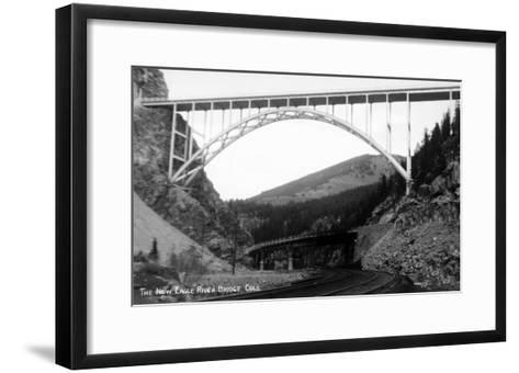 Colorado - New Eagle River Bridge near Red Cliff-Lantern Press-Framed Art Print