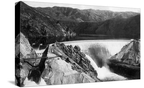 Boise, Idaho - Arrowrock Dam-Lantern Press-Stretched Canvas Print