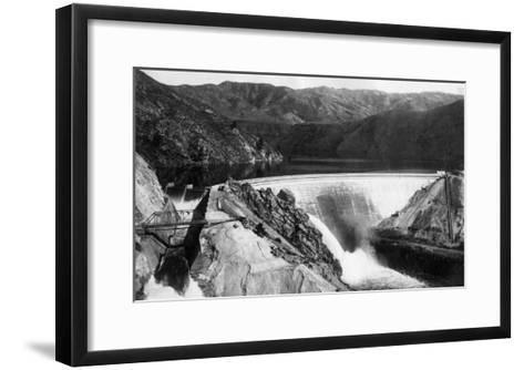 Boise, Idaho - Arrowrock Dam-Lantern Press-Framed Art Print