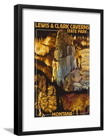 Lewis and Clark Caverns State Park, Montana-Lantern Press-Framed Art Print