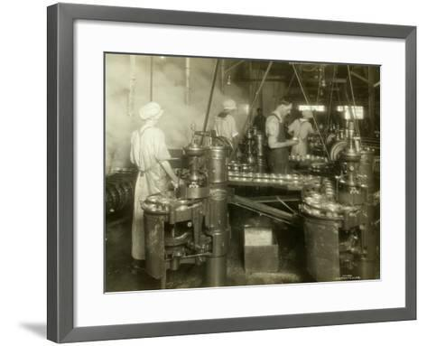 Cannery Workers, Anancortes, WA-Asahel Curtis-Framed Art Print