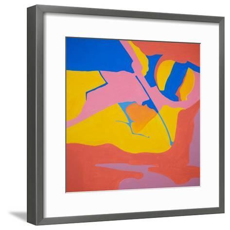 Solar Space-Margaret Tomkins-Framed Art Print