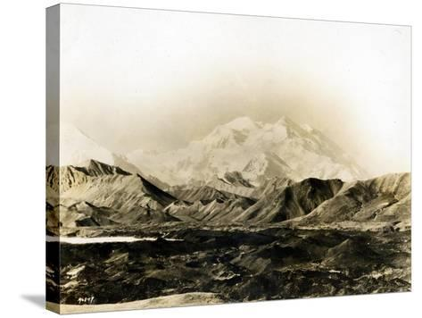 Mount McKinley, 20,300 Ft., 1924-Asahel Curtis-Stretched Canvas Print