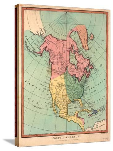 North America, 1790-J^ Wilkes-Stretched Canvas Print