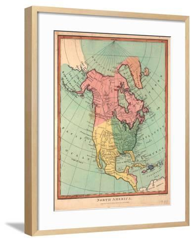 North America, 1790-J^ Wilkes-Framed Art Print