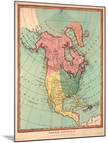 North America, 1790-J^ Wilkes-Mounted Giclee Print