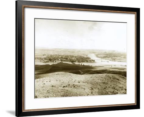 Lewiston, ID, 1917-Asahel Curtis-Framed Art Print