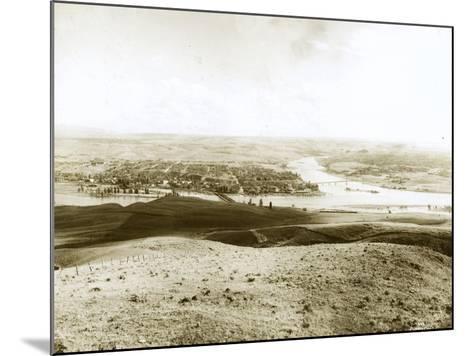 Lewiston, ID, 1917-Asahel Curtis-Mounted Giclee Print