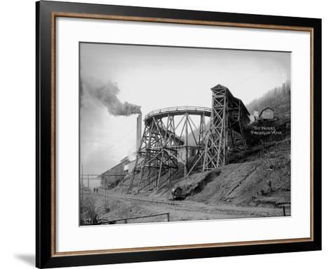 Topworks Franklin Mine, 1902-Asahel Curtis-Framed Art Print
