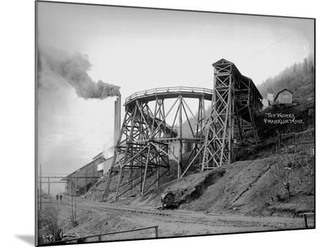 Topworks Franklin Mine, 1902-Asahel Curtis-Mounted Giclee Print