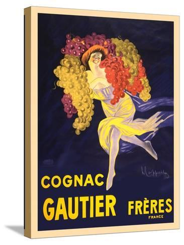 Advertisement for Cognac Gautier Freres--Stretched Canvas Print