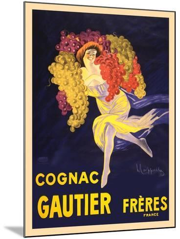 Advertisement for Cognac Gautier Freres--Mounted Art Print