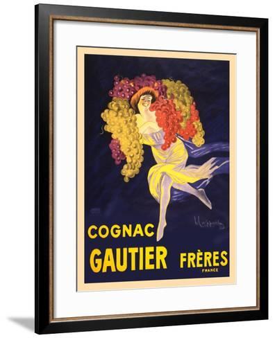 Advertisement for Cognac Gautier Freres--Framed Art Print