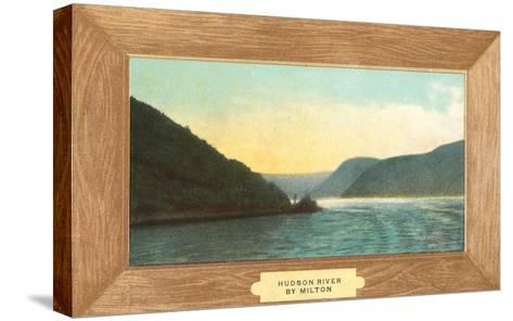 Hudson River Painting by Milton--Stretched Canvas Print