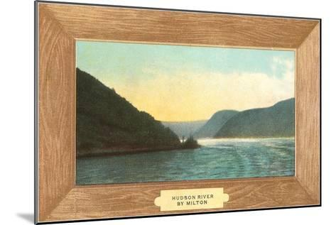 Hudson River Painting by Milton--Mounted Art Print