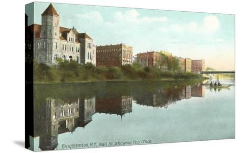 Post Office, Binghamton, New York--Stretched Canvas Print