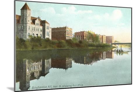 Post Office, Binghamton, New York--Mounted Art Print