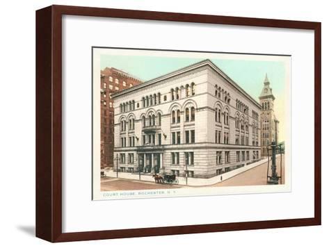 Courthouse, Rochester, New York--Framed Art Print