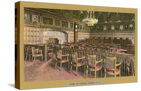 Court of Appeals, Albany, New York--Stretched Canvas Print