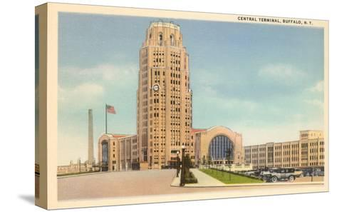 Central Terminal, Buffalo, New York--Stretched Canvas Print