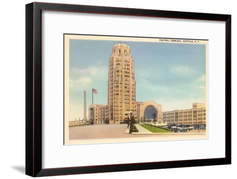 Central Terminal, Buffalo, New York--Framed Art Print