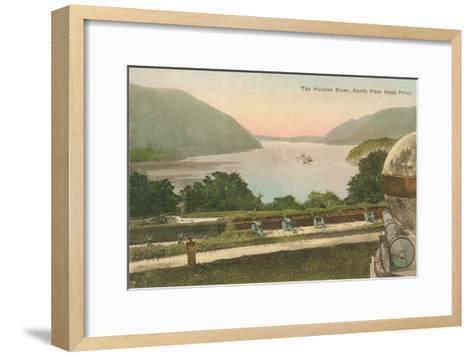 Hudson River from Westpoint, New York State--Framed Art Print