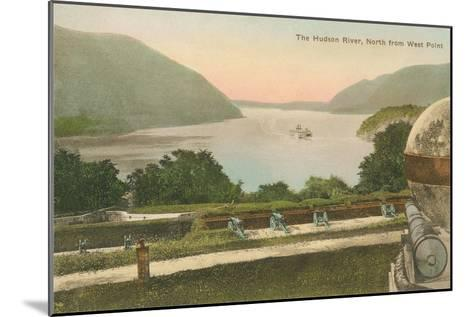 Hudson River from Westpoint, New York State--Mounted Art Print
